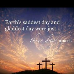 There Has Never Been an Easter Sunday without a Good Friday First.. www.christiancounselingjustinbangert.blogspot.com Justin Bangert, MS, LMFT