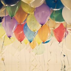 To blow up balloons for parties without helium: Just mix vinegar and baking soda in a bottle and blow up! -- Lets see if this works