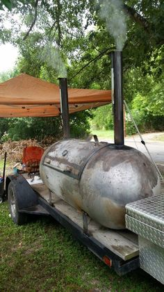 250 Gallon Propane tanks for BBQ Pit, Smoker, Fire Pit etc. for Sale in San Antonio, TX - OfferUp Barrel Bbq, Barrel Smoker, Bbq Pit Smoker, Fire Pit Bbq, Smoker Designs, Bbq Smoker Trailer, Custom Bbq Pits, Diy Grill, Homemade Smoker