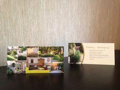 Einladung Gartenparty Postkarte DIN lang