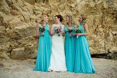 A Ronald Joyce Gown for an Elegant, Seaside Destination Wedding in Greece | Love My Dress® UK Wedding Blog