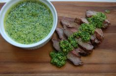 Chimichurri-This sauce hails from Argentina, a country that's known for tasty grilled meats. Pair this with grilled beef, pork, chicken and even fish. It's also a great dipping sauce for grilled vegetables and whole-wheat bread.