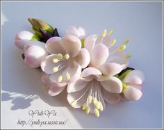 Vita brooch by Yuli-Ya, via Flickr