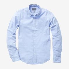 Bonobos Blue Lightweight Oxford