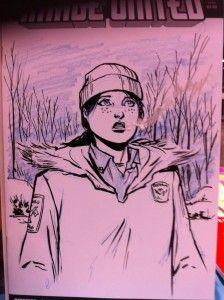 Mike Norton Sketch