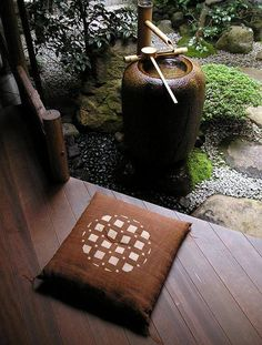 Feel Peaceful with Zabuton (座布団) ~ Japanese cushion for sitting.