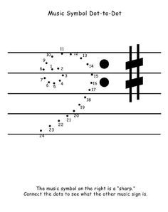 Dot to dot music activity Bass Clef FREE download! Music Math, Music Games, Music Activities, Music Classroom, Piano Lessons, Music Lessons, Music Symbols, Music Worksheets, Music School