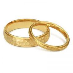 d73b3d1a874c Las 12 mejores imágenes de Alianzas de bodas Oro Amarillo