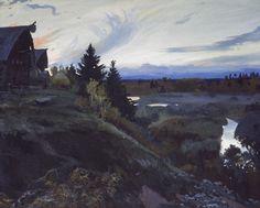 Иван Глазунов. Сумерки. 1999.