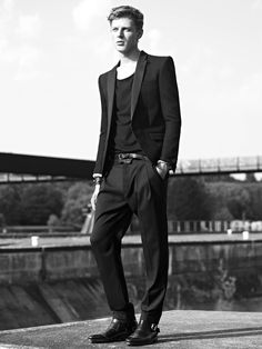 Janis Ancens for Balmain SS13 #Menswear https://www.facebook.com/effstyle