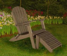 Phat Tommy Deluxe Folding Adirondack Chair Recycled Poly Outdoor Furniture  White | EBay | Mis Fotos | Pinterest | Adirondack Chairs, Chairs And Outdoor