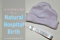 Tips for a Natural Hospital Birth