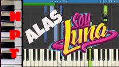 Soy Luna - Alas - Piano Tutorial + Letra - Como Tocar Alas - Disney - Ho...