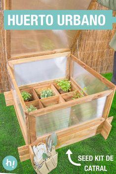 Huerto urbano Seed Kit de Catral ➜ Así es el huerto urbano seed kit de Catral, con cubierta térmica para cultivar a la temperatura idónea. #Huerto #SeedKit #Catral #Cultivo #Jardinería #DIY #Handfie