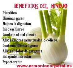 - very nice stuff - share it - hinojo Holistic Nutrition, Healthy Nutrition, Healthy Tips, Natural Medicine, Herbal Medicine, Healthy Smoothies, Healthy Drinks, Salud Natural, Mindful Eating