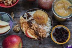 Gesunder Milchreis mit Quinoa - veganes Frühstück - Mrs Flury Quinoa Vegan, Vegan Vegetarian, Food Porn, Healthy Sweet Treats, Comfort Food, Recipes From Heaven, Vegan Breakfast, Hummus, Oatmeal