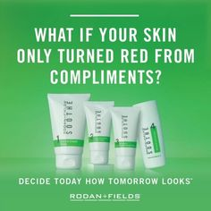 Got Sensitive skin? Soothe it with Rodan + Fields Soothe regimen. Sensitive skin can leave you feeling out of step. Achieve perfect balance with the SOOTHE Regimen---clinically shown to address occasional or chronic sensitivity triggers for a healthy-looking, even-toned complexion.  Ask me how you can get perfectly balanced skin!