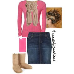 Apostolic Fashions #573 by apostolicfashions on Polyvore featuring Superdry, American Vintage, MUSTANG, Aéropostale, Nordstrom and Happy Plugs