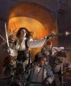 Pirate woman fantasy