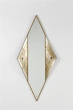 """petitagite:  """"Lorenzo Burchiellaro Mirror Silvered copper L 195 x W 95 cm"""""""