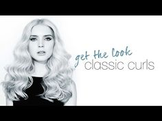 how-to hair | the classic curl | ghd curve classic curl tong - YouTube