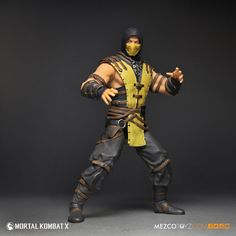 Pulled straight from the Mortal Kombat X video game, our Scorpion action figure is ready to fight. Add him to you collection today! Video X, Video Game, Mortal Kombat X Scorpion, Living Dead Dolls, Street Fighter, Wolverine, Marvel Comics, Deadpool, Pop Culture