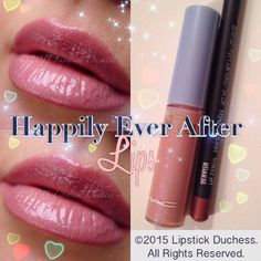 👰💕HAPPILY EVER AFTER LIPS:.a cool milky pink with bluish pearl LE Lipglass by ✨Cinderella✨ 💁I like to wear my lipglasses usually on top of liners. Here I lined and filled with Mac Dervish. Reminds me of Mac Bijou just with blue shimmer. Mac Cinderella, Lip Pencil, Happily Ever After, Lipstick, Makeup, Instagram Posts, Pearl, Pink