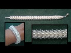 Beading4perfectionists : Flat spiral beading tutorial for begining beaders - YouTube