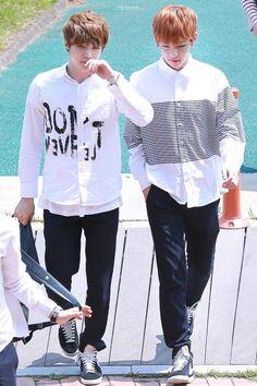 Tae Tae and Yoongi