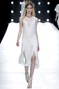 Roberto Cavalli Spring 2013 Ready-to-Wear Fashion Show - Elsa Sylvan