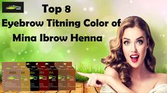 Mina presents you with 8 enigmatic ways to add colours to the eyebrows and eyelashes with their excellent Eyebrow Henna Tinting Kit that works best for eyebrow grooming and eyebrow tinting purposes. Eyelashes, Eyebrows, Eyebrow Grooming, Henna Brows, Eyebrow Tinting, Spa, Colours, Presents, Beauty