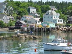 Stonington Village, Maine