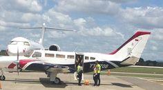 El avión con bandera venezolana donde se encontró el cargamento de drogas seguirá decomisado en República Dominicana   Foto: dncd.gob.do