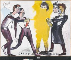Spray Armee by René Daniels