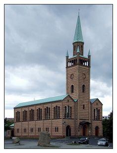 Berlin, St. Matthäus-Kirche, Friedrich August Stüler - Moabit, Berlin, BE, DE