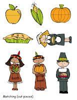 {FREE} Thanksgiving File Folder Games!! | Preschool Powol Packets