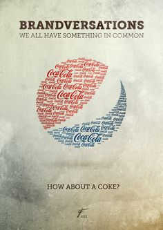 Brandversations: um projeto sobre marcas rivais - Pepsi vs. Coca-Cola| by: Stefan Asafti - Designerd #logo #branding