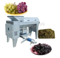 Product Link: http://www.food-machines.org/product/fruit-processing-machine/grape-crusher-destemmer.html Grape Crusher Destemmer This grape crusher destemmer is specially used for the winery to process the fresh grapes, absorbing France and Italy technology. It can separate grape fruit from stalk, remove the stem , crush and convey grape fruit pulp, ideal equipment for small and medium-sized winery. E-mail: info@food-machines.org