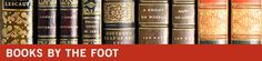 Books by the Foot - Sales and Rentals from The Strand