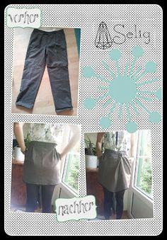 Refashion: Ein neues Leben für die alte Anzughose