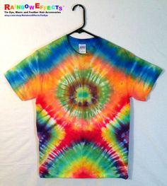 Tie Dye TShirt  Rainbow Surprise by RainbowEffectsTieDye, $13.00