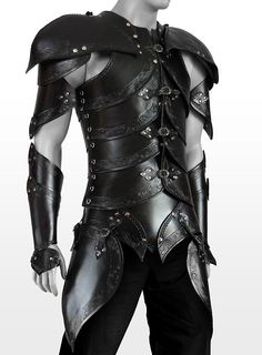 Elf Leather Armor black - maskworld.com