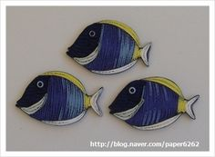 paper quilling / fish : 네이버 블로그