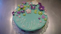 Birthday Cake for a Mum by CAKE Amsterdam - Cakes by ZOBOT, via Flickr