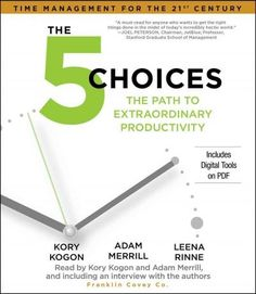 The 5 Choices: The Path to Extraordinary Productivity, Grey
