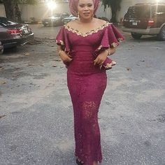 Aso Ebi Gallery Colour Combination : Cute Lace StylesLatest Ankara Styles and Aso Ebi Styles 2020 Trendy Ankara Styles, Ankara Gown Styles, Ankara Dress, African Attire, African Wear, African Outfits, African Women, Africa Dress, Style Africain