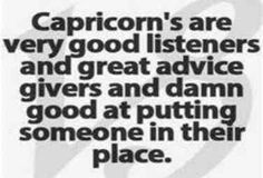 Capricorn advice