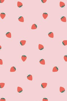 Download premium image of Hand drawn strawberry pattern pastel background by marinemynt about background design, background image, background pic, background picture, and background wallpaper 2704522