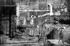 Fabryka sztuki, Aleksandra Błaszczyk, akwaforta, 30 x 42 cm