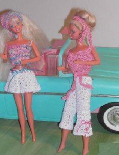 Crochet Fashion Doll Barbie Pattern- #387 SPORTS TEENAGER